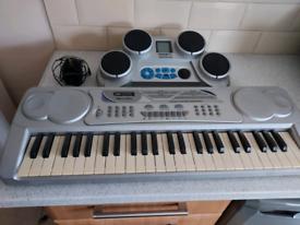 Key board and drum machine