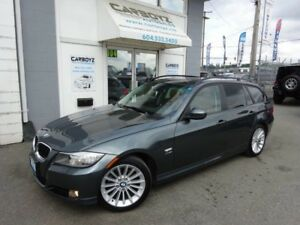 2010 BMW 3 Series 328ix Touring AWD Wagon Pano Roof, No Accident