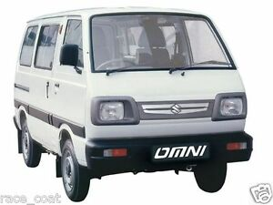 Maruti Suzuki Omni Van Body Cover In Silver Matty Cloth