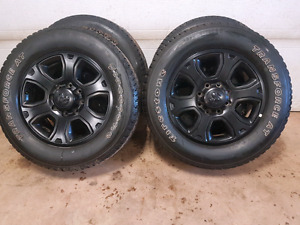 8 bolt dodge factory rims and tires