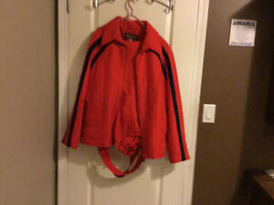 Winter snow Ski suit  made in Austria  like new