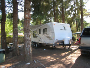 Spacious RV site for Extended Stay
