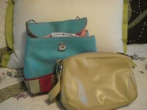 2 Purses, Tommy Hilfiger, Roots