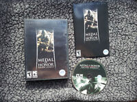 MEDAL OF HONOR PACIFIC ASSAULT pc game  ea adventure WWII 2 tour