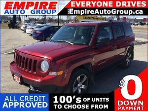 2016 JEEP PATRIOT HIGH ALTITUDE *NAVI*LEATHER* HEATED SEATS - DR