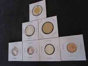 2001 Canada Sterling Silver PROOF 7 Coin Set