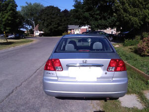 2003 Honda Sedan- Ready to go. COMES WITH E TEXT AND SAFETY