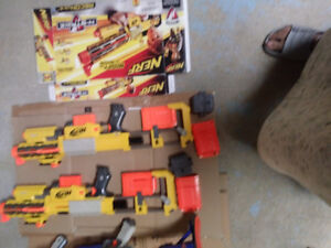 NERF-35 DART HIGHEST SPEED GUNS for sale IN EXCELLENT CONDITION