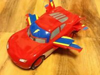 Disney Cars - W7215 Lightning McQueen Hawk Interactive Flying Buddy Playset