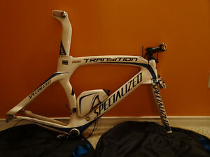 2010 Specialized Transition Comp Carbon Frame (Size XL)