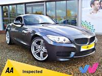 2014 (14) BMW Z4 Sdrive28i M Sport Roadster Convertible Automatic 2dr - 2K MILES