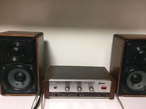 JANA Solid State Stereo Amp - Vintage, Japan