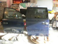 porte et porte coullissante dodge caravan 2002 a 2008