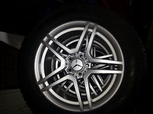 2011 Mercedes ML 350 Winter Tires and Rims