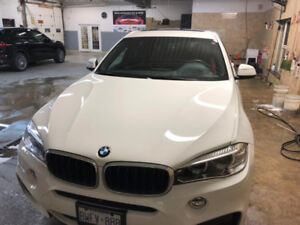 2015 BMW X6 with premium package and M sport package