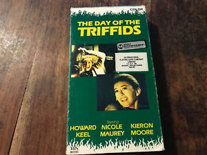 The day of the triffids - horror movie - vhs