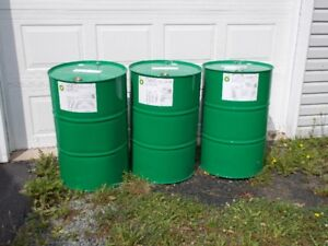 BURN BARRELS  20.00 OR WITH TOP REMOVED 35.00