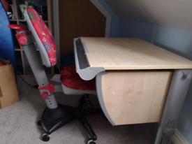 Children's desk & chair