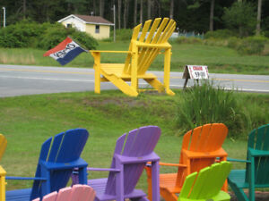 Adirondack Chairs (Adult) Coloured Start at $89.00
