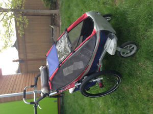 Chariot CX-1 with ski, jogging, stroller, and bike kits