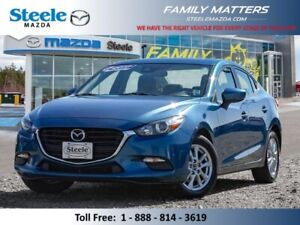 2017 Mazda MAZDA3 GS W/Unlimited KM Warranty