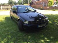 BMW 318 CI Coupe, 92,000 miles, Black