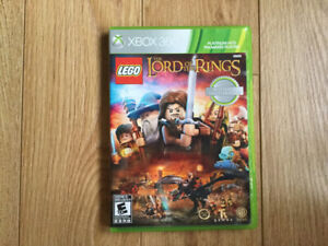 CHAMBLY - XBOX 360 -*LEGO LORD OF THE RINGS - 20 $