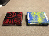 gears of war xbox and two games and 1 controller