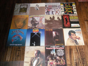 record sleeves - Zeppelin, Lennon/Ono, Stones, Grandmaster Flash