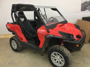 2013 CAN AM 1000 COMMANDER XT....FINANCING AVAILABLE