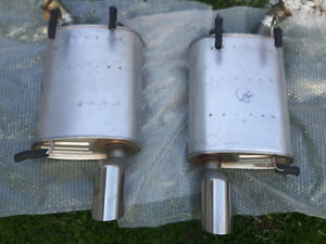New Stock Mustang Exhaust Axle-back Exhaust