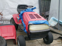 1991 MTD Turf Power 12/38 riding mower with lots of parts CHEAP