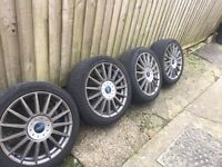 Focus st170 alloys fit all ford 4x108