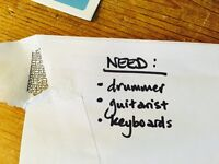 Drums, guitar, keys wanted