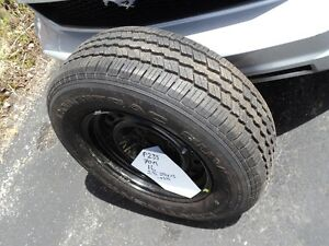 various new tires, used as spares, never used