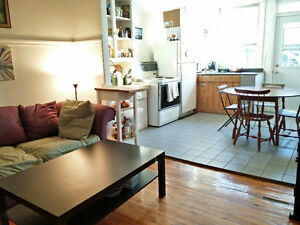 4 1/2 Appt Plateau West, amazing location! Sept 1 Lease Transfer