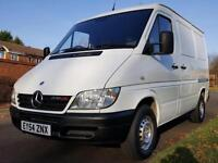 Mercedes-Benz Sprinter 2.2TD 208CDi + SWB + LOW ROOF + LOW MILEAGE