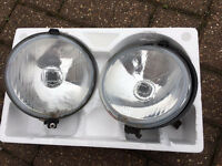 Classic Mini front fog / driving lights lamps
