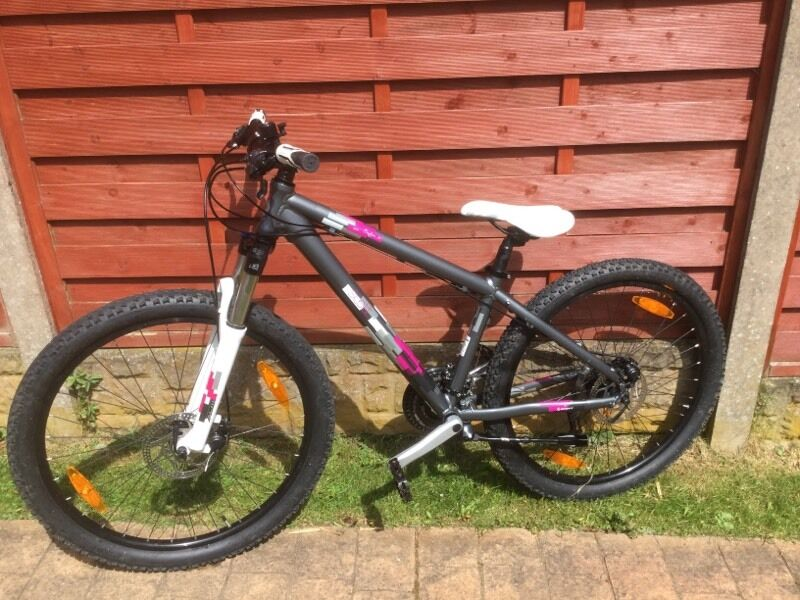 Scott Contessa 30 Womens Small Mtb Mountain Bike Grey Pink In