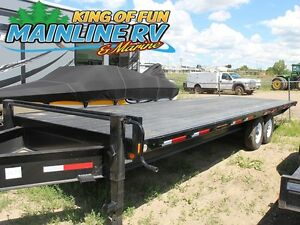 2016 Rainbow Trailers Tandem Deck Above Bumper Express 0724E