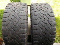 LT325/65/18 inch Goodyear All Season Tires / GOOD DEAL