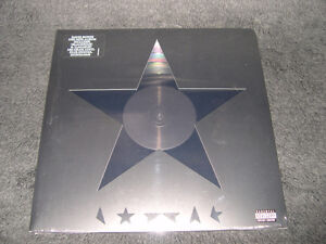David Bowie - Blackstar (2016, 1er pressage) lp Vinyl Rock