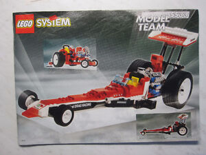 Lego - Lego Red Fury Dragster - Set 5533 - Complete - $50 London Ontario image 2