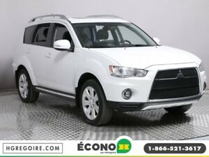2010 Mitsubishi Outlander GT CUIR TOIT OUVRANT AWD 7 PASSAGERS