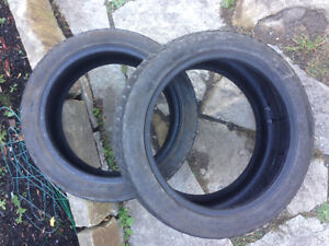 (2) 215/45/17 Low Profile Winter Tires