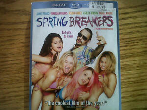 New Spring Breakers blu-ray & dvd combo pack
