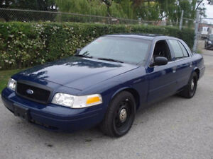 2011 Ford Crown Victoria ex-police