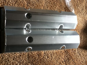 SMALL BLOCK CHEVY TALL FABRICATED VALVE COVERS NEW