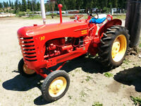 Massey-Harris model 30 antique tractor
