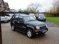 2004 04 Reg Jeep Cherokee 2.8 CRD auto Limited